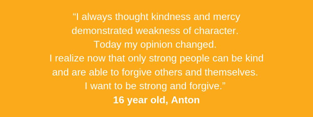 Anton aged 16