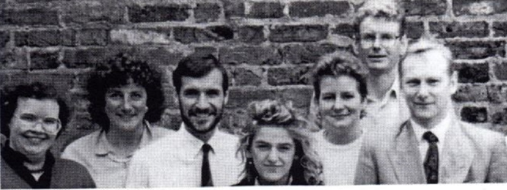 The ACET team in the early days
