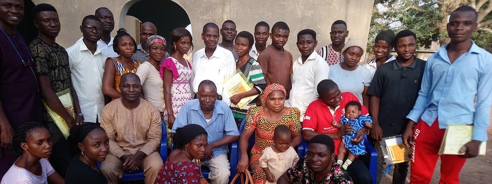 Group Photo at Wannune Esteem Training