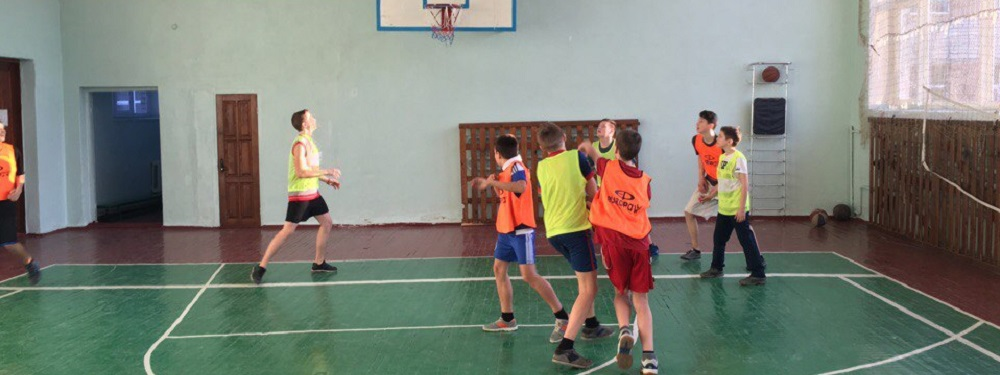 Maxim playing basketball with the Zhytomyr Lions
