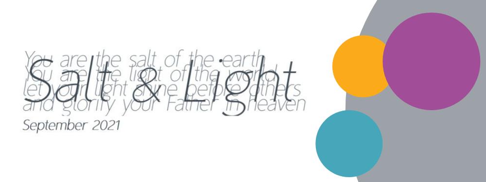 Salt & Light Sept 2021 banner