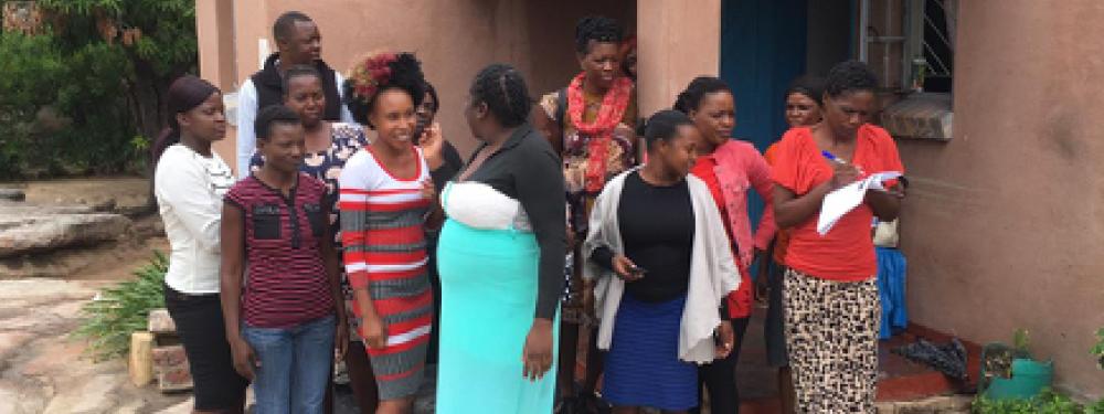 Sexual health peer educators in Zimbabwe