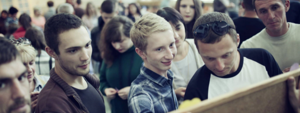 Ukraine volunteers at the recent conference