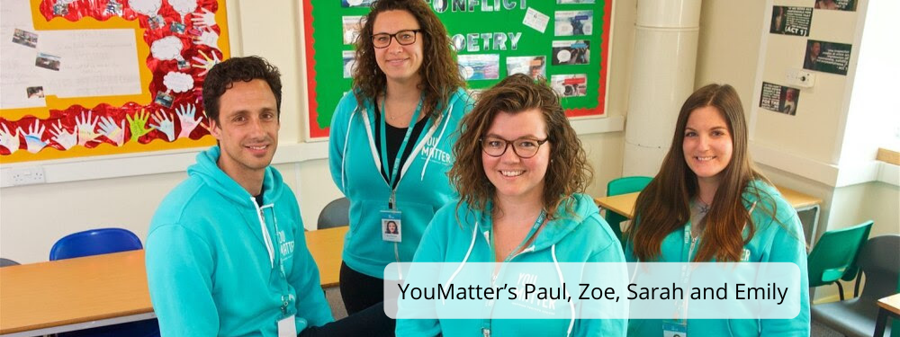 YouMatter's Paul, Zoe, Sarah and Emily