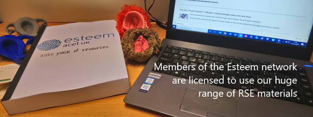 Esteem RSE resources available to members