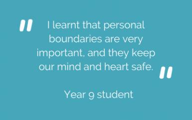 Year 9 student feedback