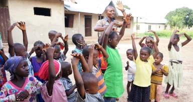 A Kids Club in Nigeria