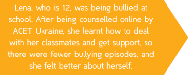 12 yr old Lena was being bullied at school