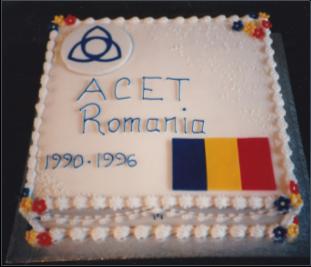 ACET Romania cake