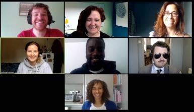 acet UK team meeting online