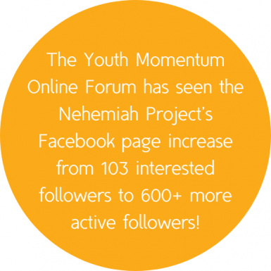 The project has gained 600+ active Facebook followers!