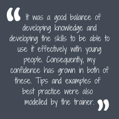 Feedback from a trainee