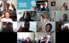 Delegates enjoying the April 2020 online course